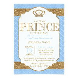 Little Prince Royal Baby Blue Gold