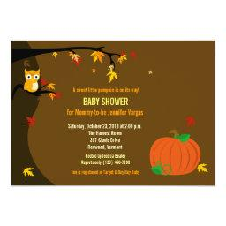 Little Pumpkin Fall Autumn Baby Shower