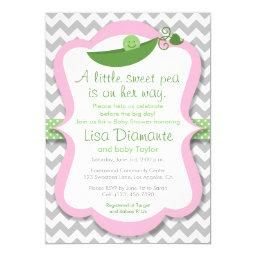 Little Sweet Pea Girl Baby Shower