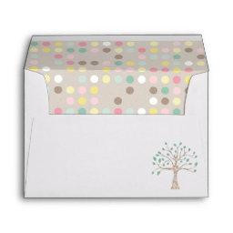 Love Grows In Our Family Tree  Party Envelope