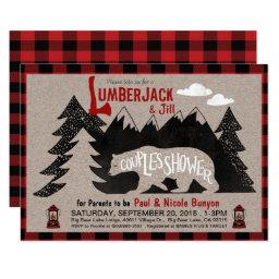 Lumberjack and Jill Couples Coed Baby Shower