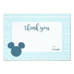 Mickey | Blue Aztec  - Thank You