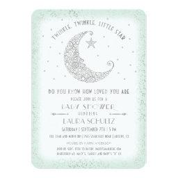 Mint Silver Twinkle Little Star