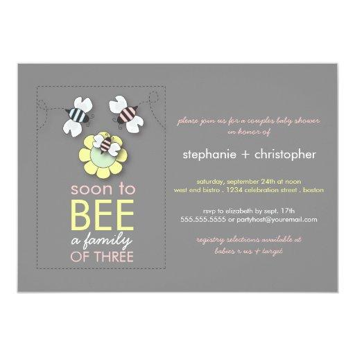 Co-Ed Baby Shower Invitation as luxury invitations layout