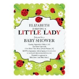 Modern Little Lady Red Ladybug