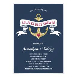 Nautical Couples Baby Shower