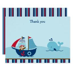 Nautical Pirate Whale Baby Shower