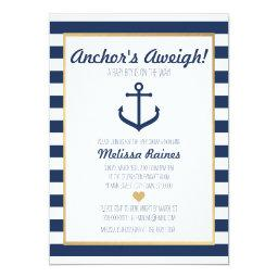 Nautical themed Baby Shower  - Anchor