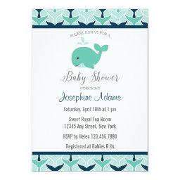 Nautical Whale Baby Shower