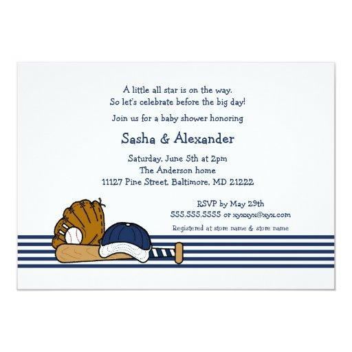 Navy Blue Baseball  birthday party