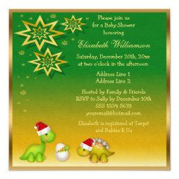 Newly Hatched Baby Dino Festive Baby Shower