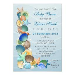 ocean theme Blue  Invites
