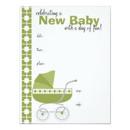 Olive Baby Buggy