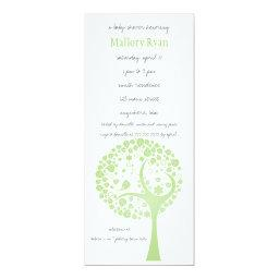 Olive Flowering Tree Baby Shower