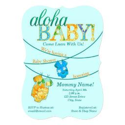 Luau Baby Shower Invitations BabyShowerInvitations4U