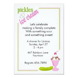 Pickles & Ice Cream