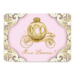 Pink and Gold Carriage Royal Princess