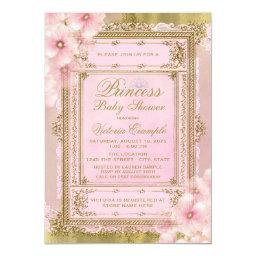 Pink and Gold Foil Princess