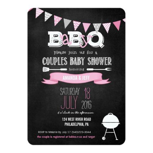 babyq & couples coed baby shower invitations | babyshowerinvitations4u, Baby shower invitations