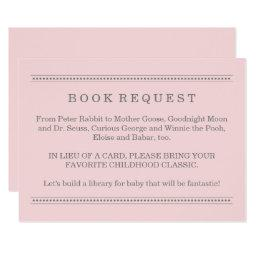 Pink Book Request | Baby Shower Enclosure
