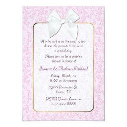 Pink Cottage Chic Couple's Baby Shower