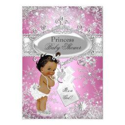 Pink Princess Winter Wonderland  Ethnic