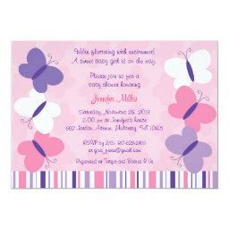 Pink & Purple Butterfly Baby Shower