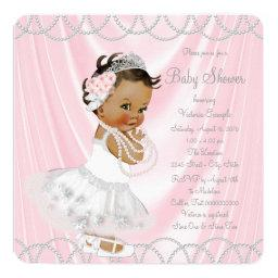 Pink Satin Pearl Ethnic Little Lady