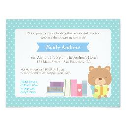 Polka Dots Book Themed Cute Teddy Bear