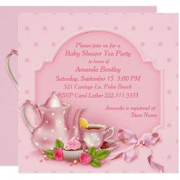 Pretty Pink  Tea Party