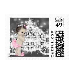 Pretty Princess Baby Shower Postage