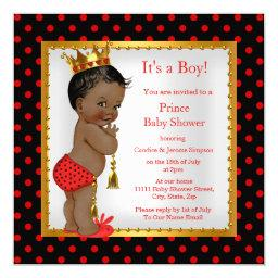 Prince  Red Gold Black Boy Ethnic