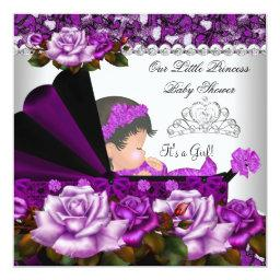 Princess  Girl Plum Rose
