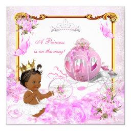 Princess  Pink Gold Carriage Ethnic