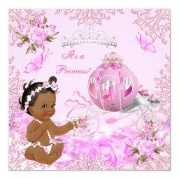 Princess Girl  Pink Carriage Ethnic