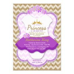 Princess Gold Glitter Tutu Baby Shower