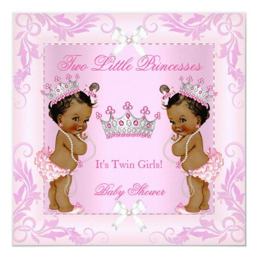 Princess Pink Pearls Twin  Tiara Ethnic