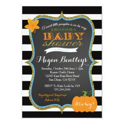 Pumpkin Boy  Invitation