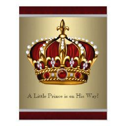 Red Gold Crown Prince Boy