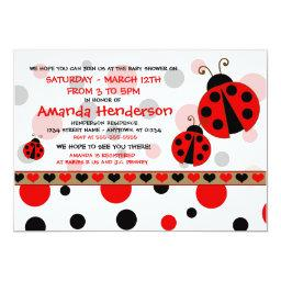 Red Ladybugs Baby Shower