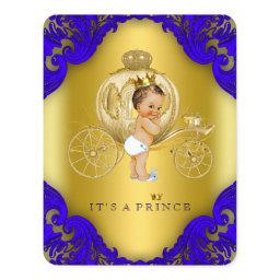 Royal Blue and Gold Carriage Prince