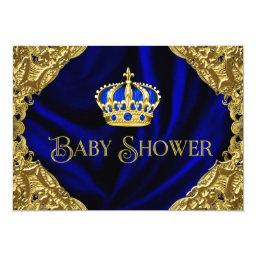 Royal Blue and Gold Crown