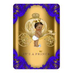 Royal Blue and Gold Ethnic Prince