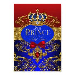 Royal Crown Red & Blue Little Prince