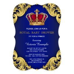 Royal Fancy Prince Baby Shower