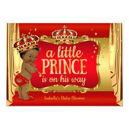 Royal Red Gold Boy Prince  Ethnic