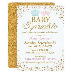 Royal Twins Gold Glitter Sprinkle