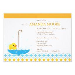 Rubber Ducky Baby Shower