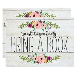 Rustic Adorned with Floral | Bring a Book