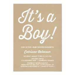 RUSTIC VINTAGE | IT'S A BOY